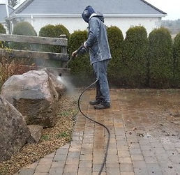 Power washing service in sligo and west of ireland. Flannery and sons garden maintenance roscommon
