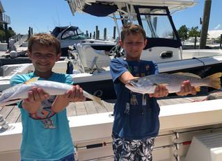 Selkin Charter Weakfish Success