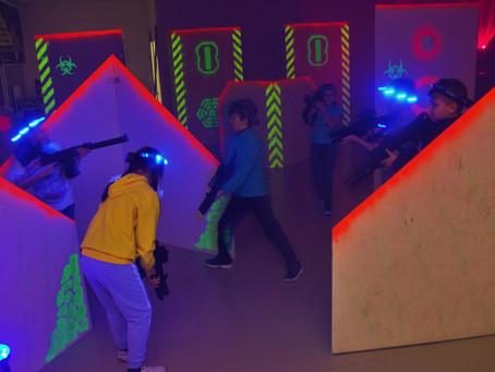 12 февраля Лазертаг арене Пульсар в Салавате исполняется год