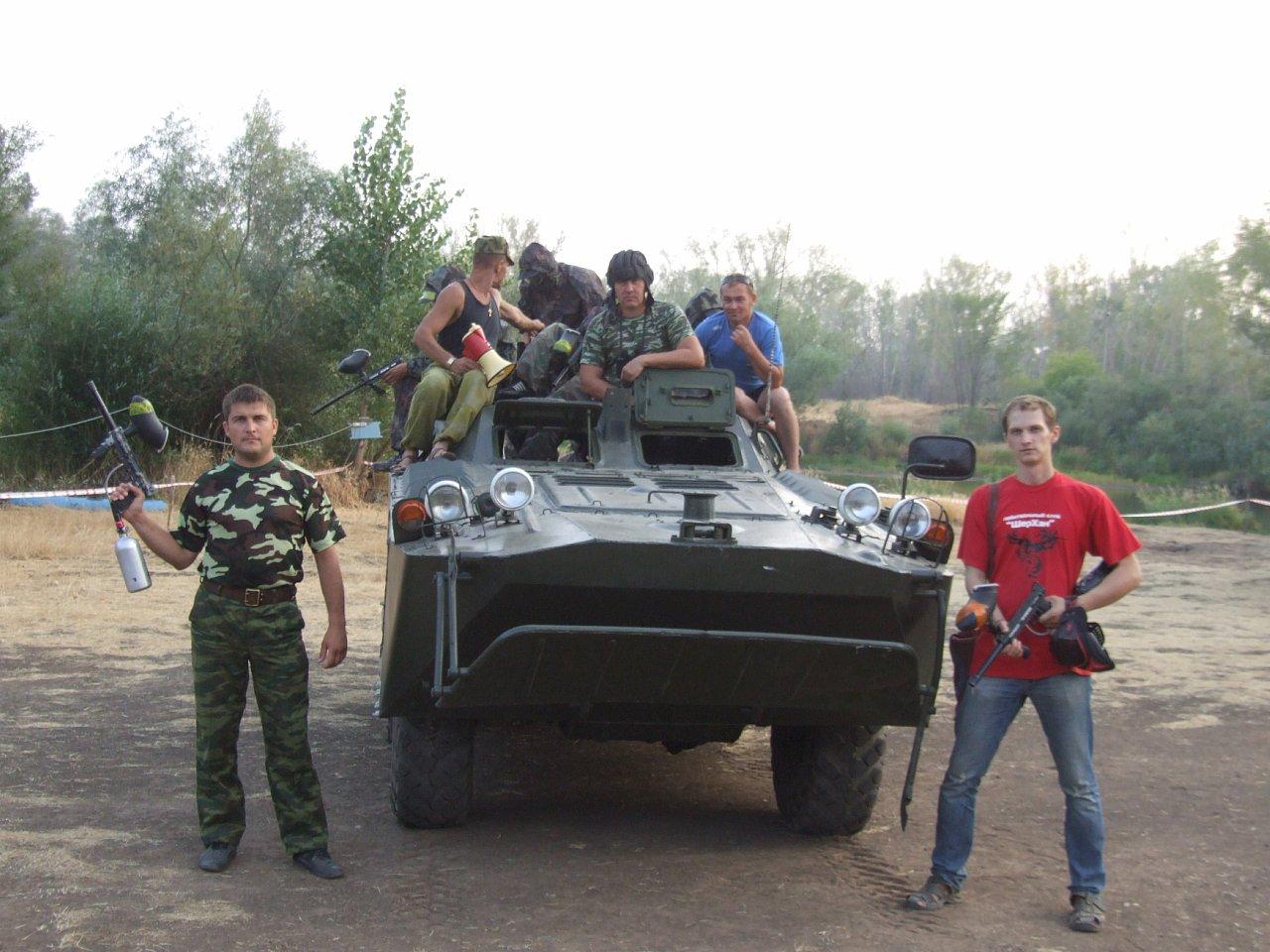 Тактический пейнтбол в Стерлитамаке (3).