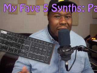 My Fave 5 Hardware Synths Pt.1