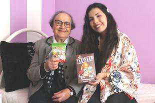 Provei snacks da Páscoa com a minha avó