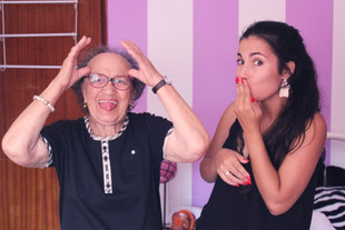 Joguei à mímica com a minha avó (e fiquei sem palavras)