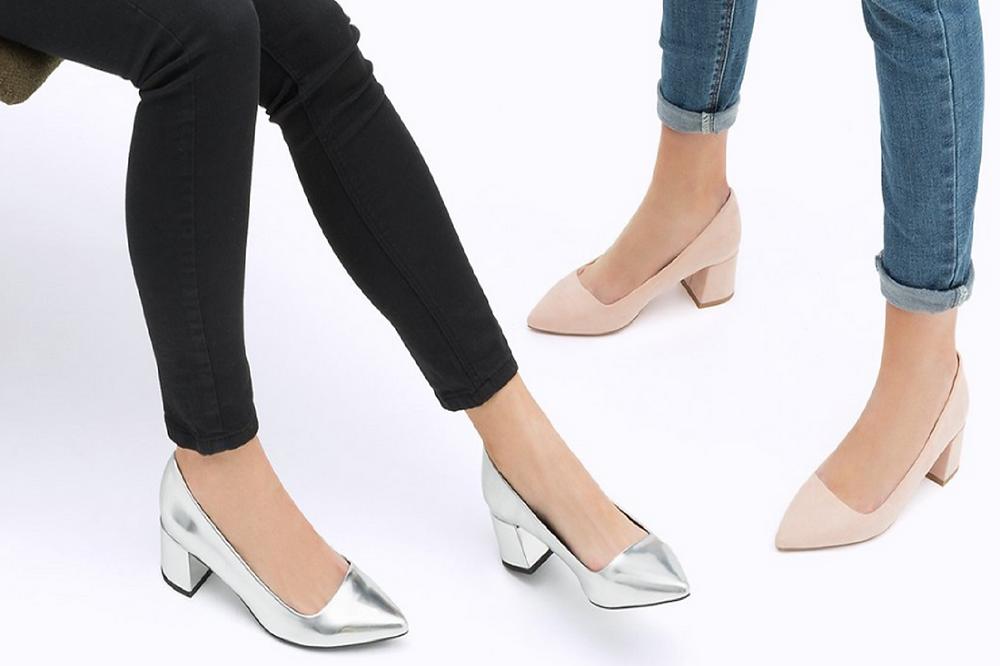 Sapatos tacão Stradivarius