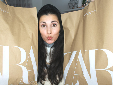 Tudo o que comprei nos saldos da Zara