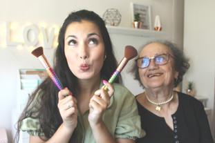 A minha avó deu voz à maquilhagem low cost que fiz