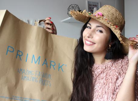 Primeiras compras de verão na Primark — e um sorteio