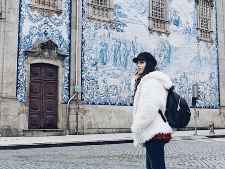 Primeiro vlog: fui (finalmente) ao Porto