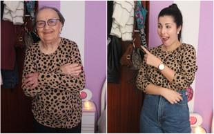 Usei roupa da minha avó durante 5 dias