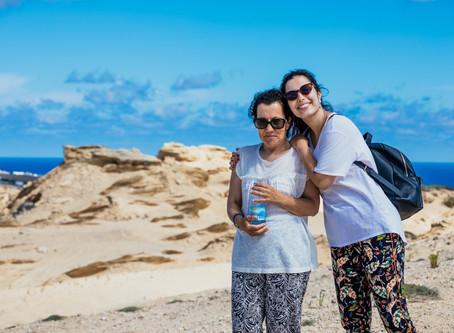 Porto Santo: levei a minha mãe a andar de avião pela 1.ª vez