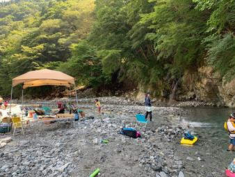 【コース例】鎌倉→西丹沢大滝キャンプ場