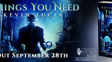 Interview: Kevin Lucia, Author of THINGS YOU NEED