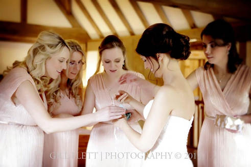 bride-with-bridesmaids-cain-manor-weddin