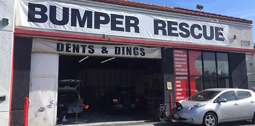 Dent Repair, Bumper Rescue Auto Body and Paint Shop, San Diego, CA, United States