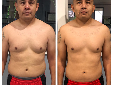 How Geno was able to lose 8.5% body fat (20lbs of pure fat) in 12 weeks after signing up with TFW!