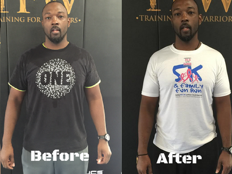 Meet Jay Brown: An 8 Week Transformation Success