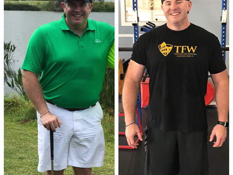 How Jeff lost 13 lbs of Fat in just 1 Month!