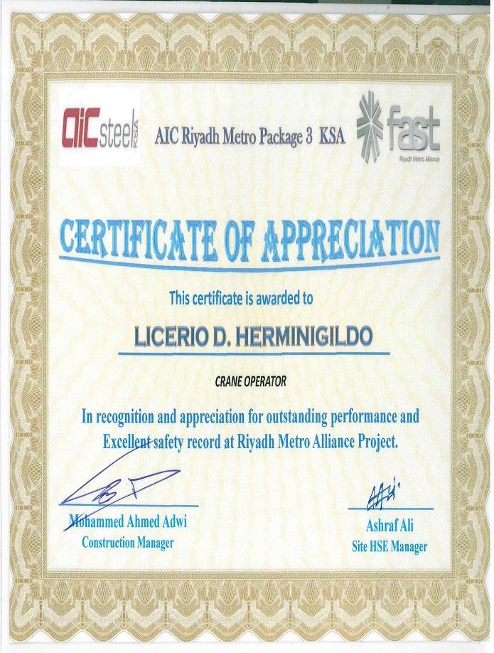 LICERIO HERMINIGILDO