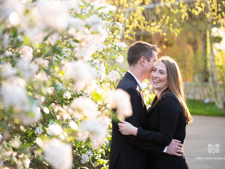 Penn State University Engagement Session | Brittany & Peter