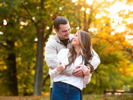 Oglebay Park Engagement Session | Nikki & Drew