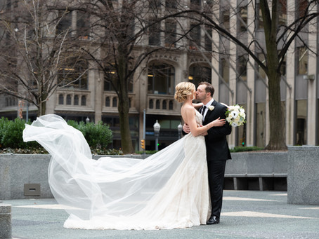 Spring Wedding at the Omni William Penn Hotel in Pittsburgh