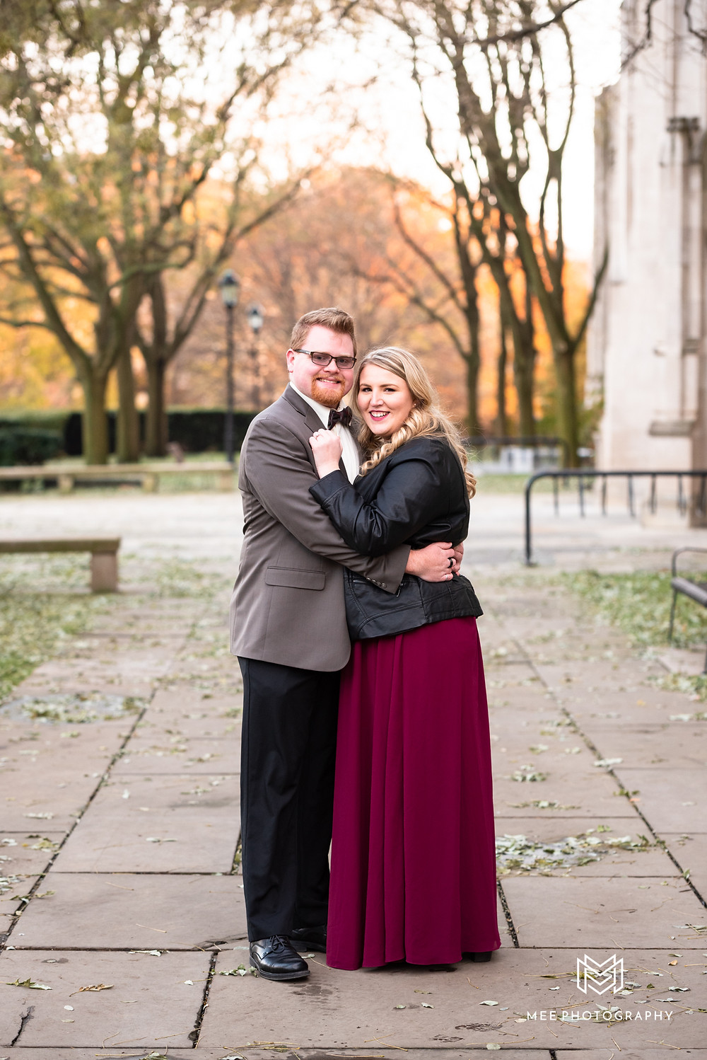 University of Pittsburgh engagement session