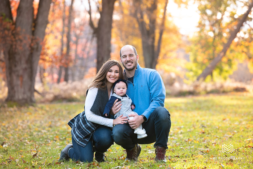 Fall family photos near Pittsburgh, PA