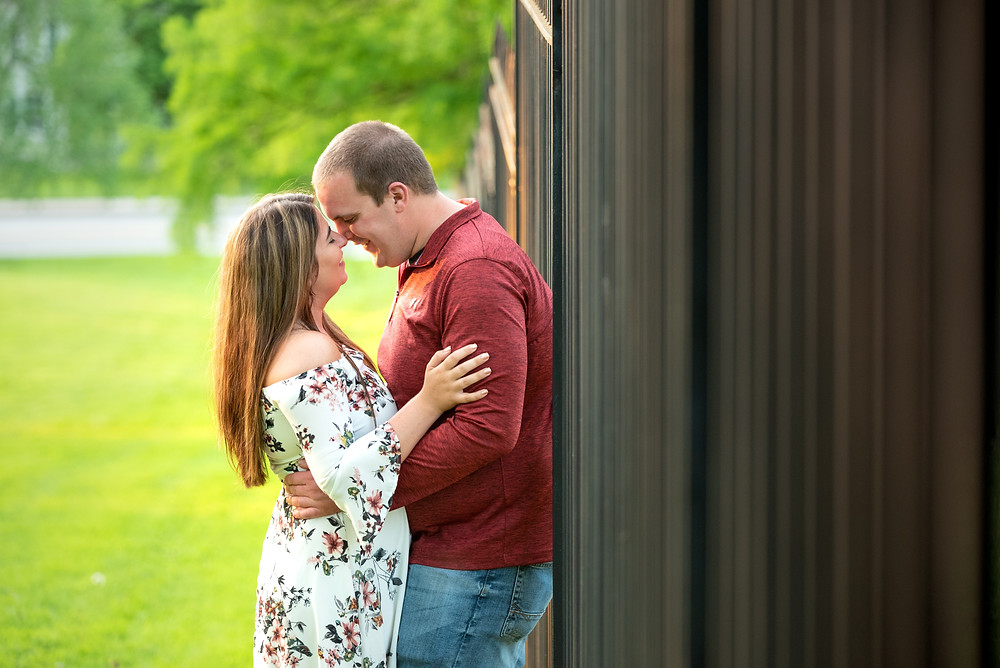 A Pittsburgh engagement session at Mellon Park