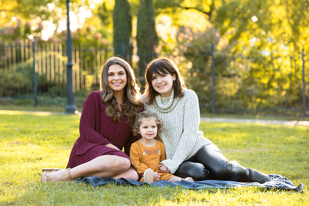 Phipps Conservatory and Botanical Gardens family photoshoot