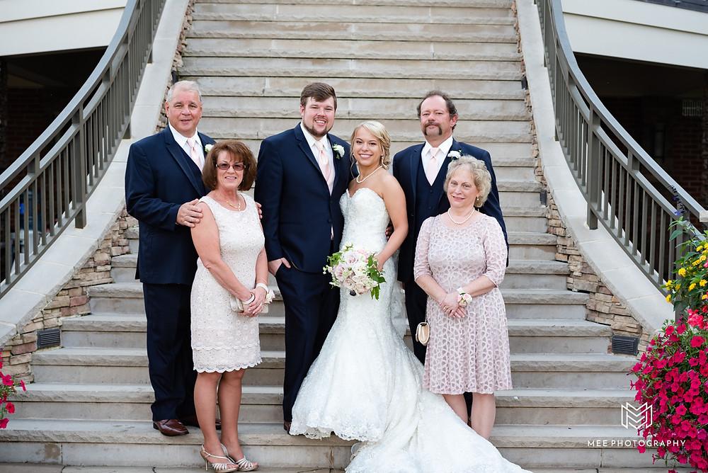 family portraits at The Lake Club of Ohio
