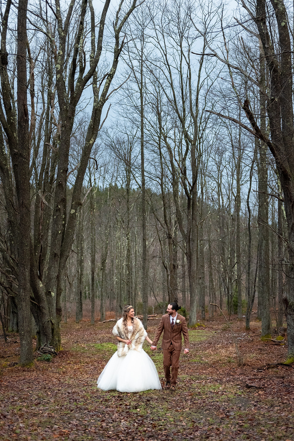Game of Thrones wedding in the forest
