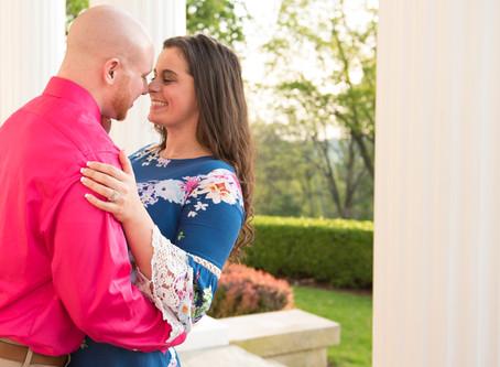 Oglebay Engagement: Kristina & Josh