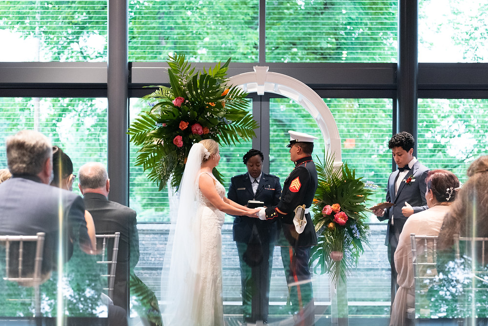 Wedding at The National Aviary