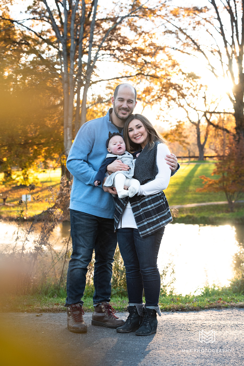 Fall family session in South Park, PA