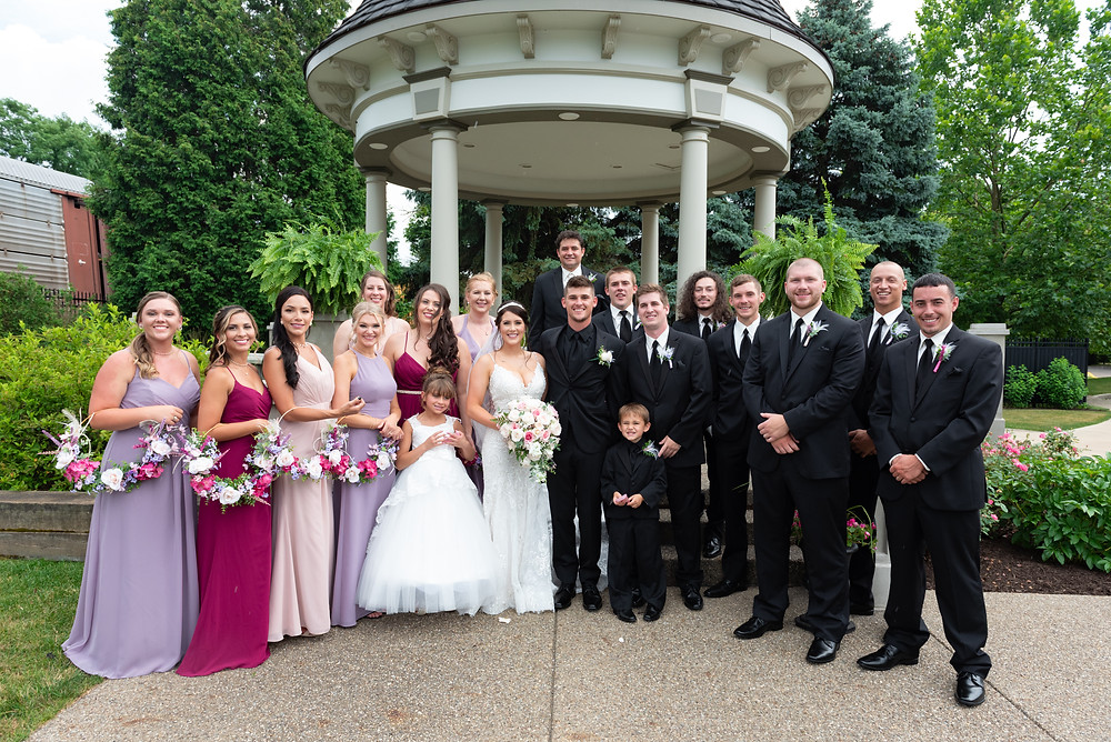 Bridal party photography ideas in Beaver, PA