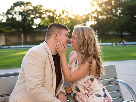 Point State Park Engagement: Rachel and John