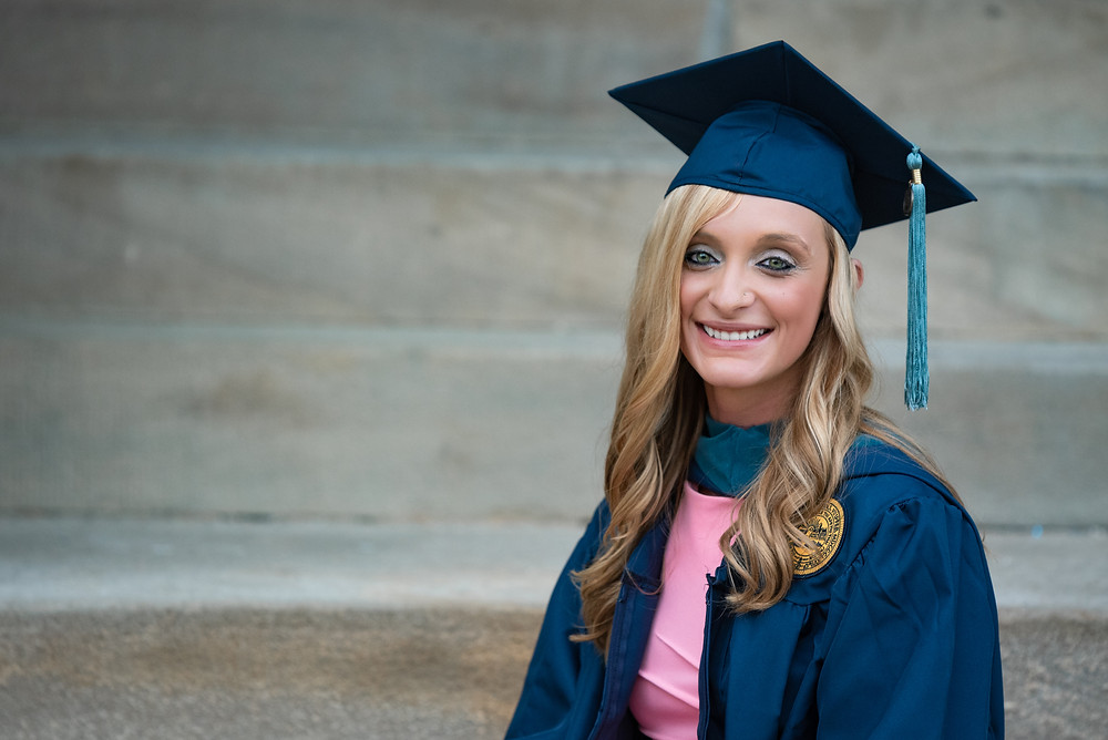 Master's degree in occupational therapy from WVU