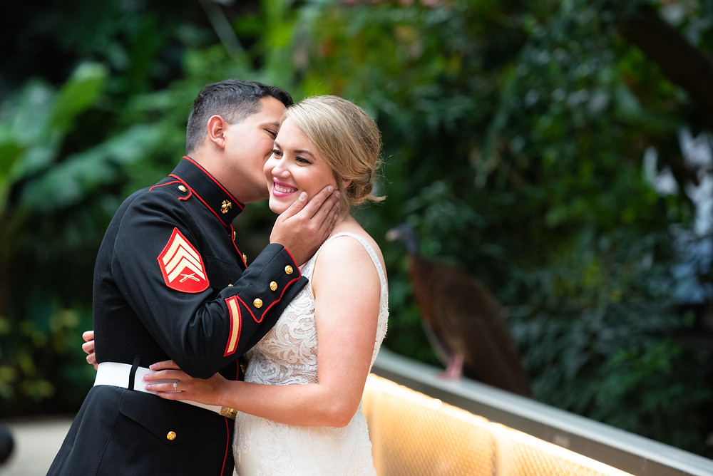 Wedding at The National Aviary in Pittsburgh