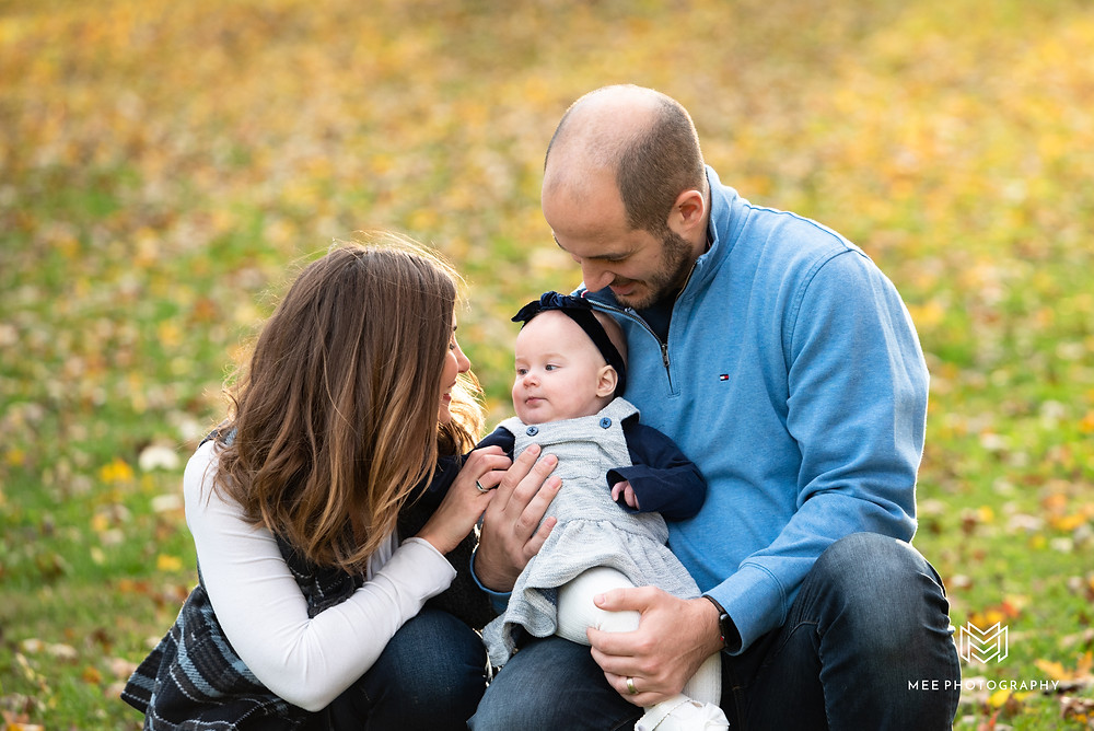 Fall family photo session near Pittsburgh