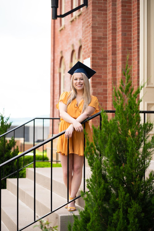College graduation pictures at West VIrginia University