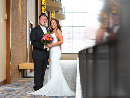 Sheraton Station Square Wedding | Bethany & Justin