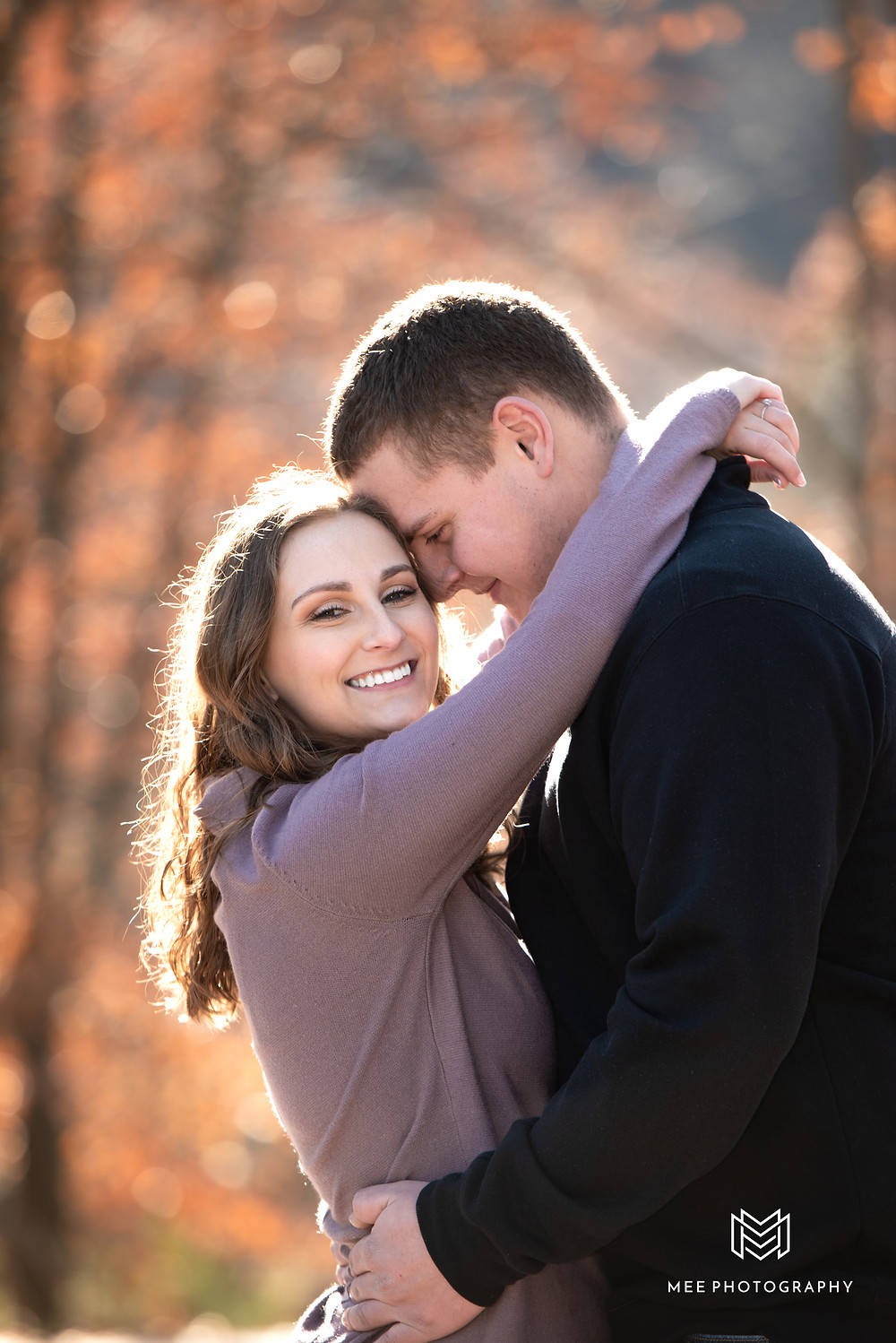 Tomlinson Run State Park fall engagement session