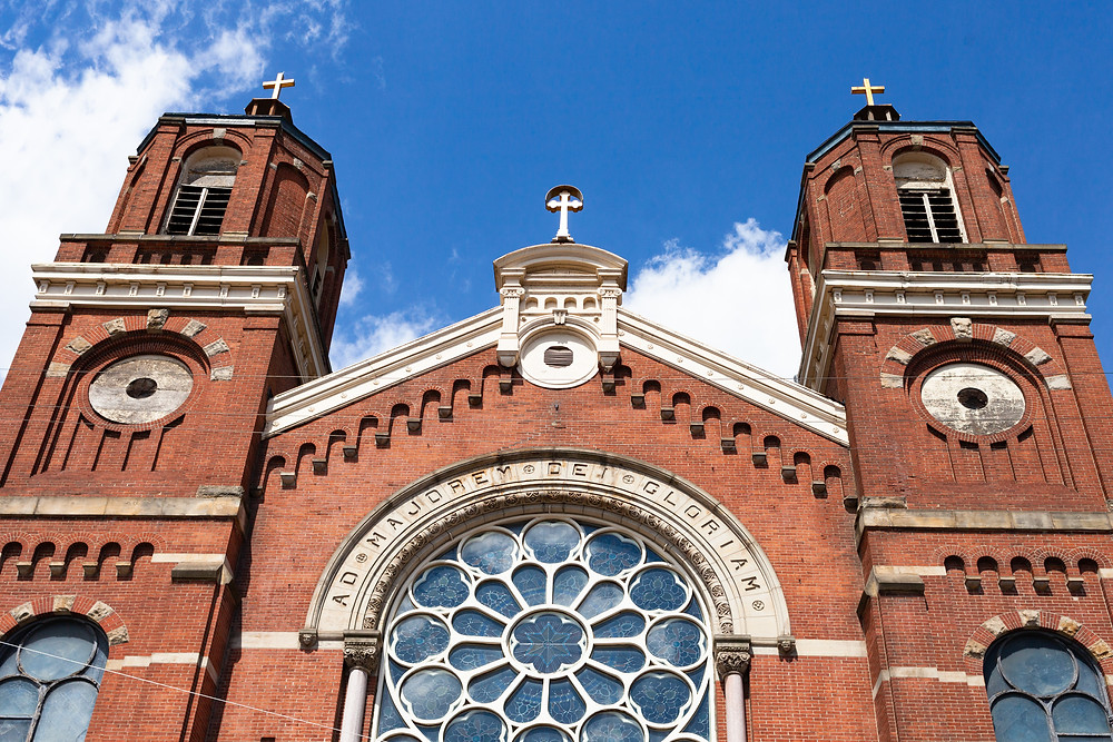 St. Stanislaus Kostka church in Pittsburgh, Pennsylvania