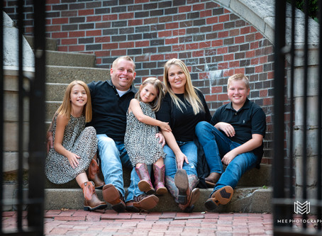 Family Session at Bethany College