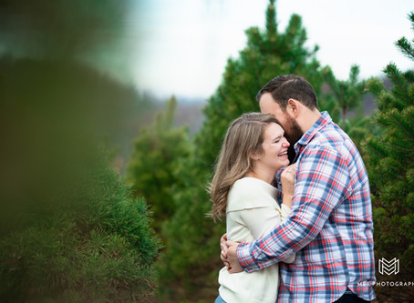 Morgantown, West Virginia Christmas Mini Session