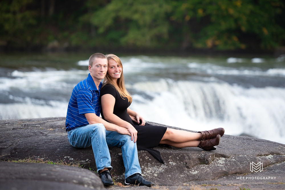 Valley Falls State Park engagement session