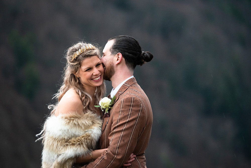 Game of Thrones inspired wedding in the Appalacian Mountains
