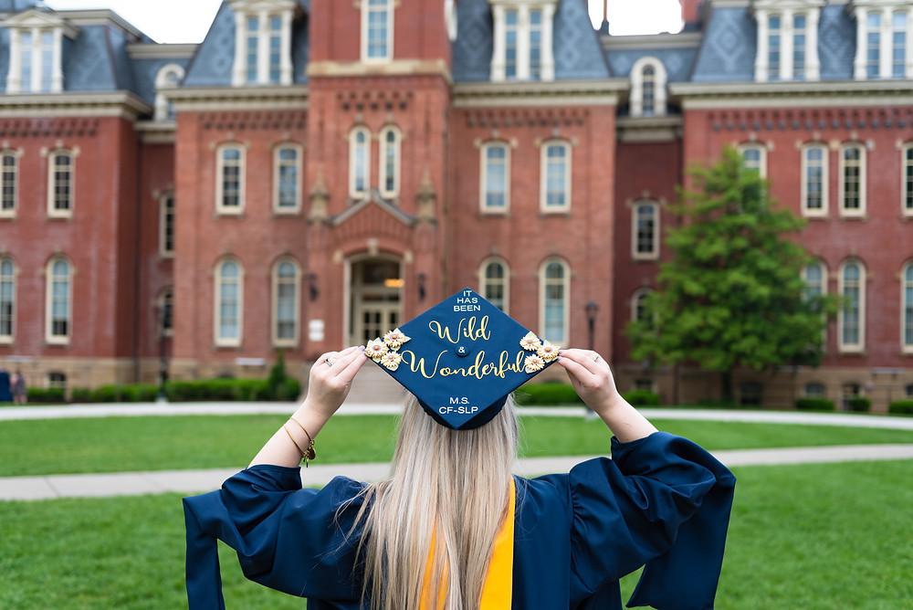 Wild and Wonderful WVU graduation photos shoot