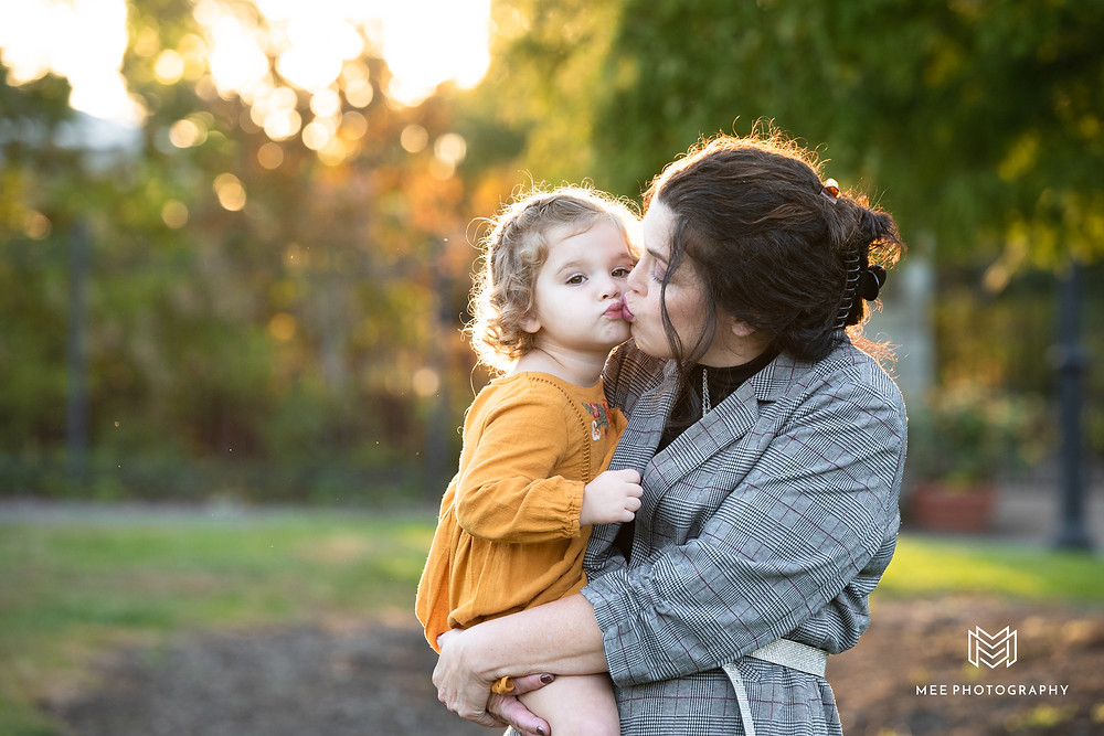 Fall family photos at Phipps in Pittsburgh