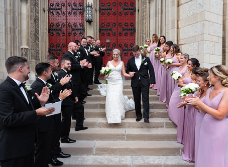 Heinz Chapel and The Circuit Center Wedding: Bryce & Kacie